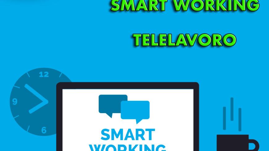 Coronavirus, Smart working e Telelavoro