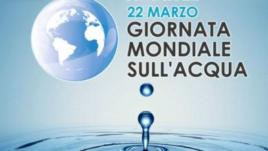 Giornata mondiale dell'acqua – 22 Marzo 2020